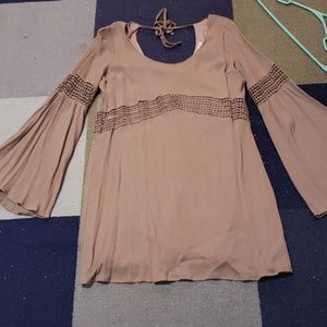 Boho flowy dress szL